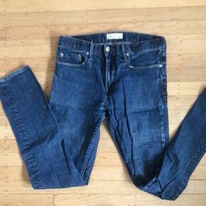 Gap men's blue skinny 30 x 32 jeans